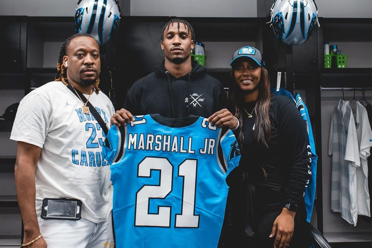 Terrace Marshall Jr Panthers Jersey